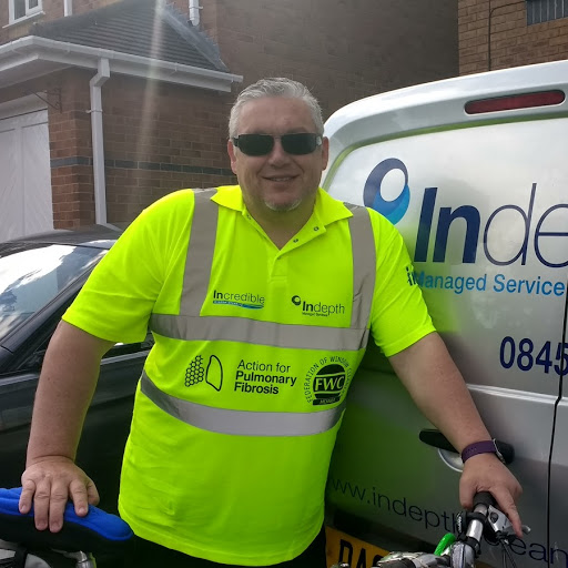 Darran Yates, Incredible Window Cleaning, CSR, charity bike ride, Action for Pulmonary Fibrosis